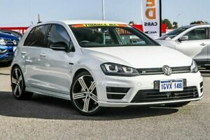 2015 Volkswagen Golf VII MY16 R DSG 4MOTION White 6 Speed Sports Automatic Dual Clutch Hatchback Cannington Canning Area Preview