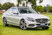 2014 Mercedes-Benz C200 W205 7G-Tronic + Silver 7 Speed Sports Automatic Sedan Victoria Park Victoria Park Area Preview