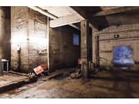 Industrial warehouse film / photography studio daily hire hackney dalston east London kingsland road