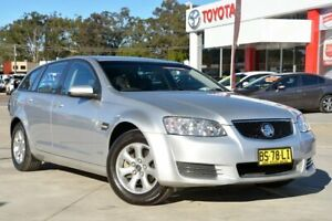 2012 Holden Commodore VE II MY12.5 Omega Silver 6 Speed Automatic Sportswagon Gosford Gosford Area Preview
