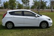 2016 Hyundai Accent RB4 MY16 Active White 6 Speed Constant Variable Hatchback Winnellie Darwin City Preview