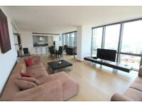 2 bedroom flat in No. 1 West India Quay Hertsmere Road, Canary Wharf, E14