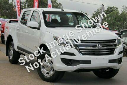 2019 Holden Colorado RG MY19 LS Pickup Crew Cab White 6 Speed Sports Automatic Utility Rockingham Rockingham Area Preview