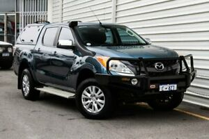 2012 Mazda BT-50 UP0YF1 XTR Blue 6 Speed Manual Utility