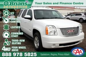 2013 GMC Yukon SLE w/4WD, 3RD Row, Leather