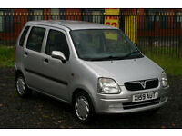Vauxhall Agila 1.2 (Cheap small car with MOT)