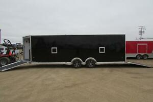 """NEW MODEL"" All ALUMINUM 8.5 X 28 (24' BOX with Spread Axle)"