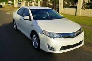 2013 Toyota Camry AVV50R Hybrid HL Crystal Pearl Continuous Variable Sedan Sunnybank Hills Brisbane South West Preview
