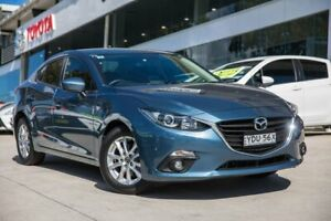 2015 Mazda 3 BM5278 Maxx SKYACTIV-Drive Blue 6 Speed Sports Automatic Sedan Castle Hill The Hills District Preview