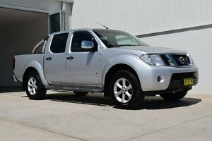 2012 Nissan Navara D40 S5 MY12 ST-X 550 Silver 7 Speed Sports Automatic Utility Rutherford Maitland Area Preview