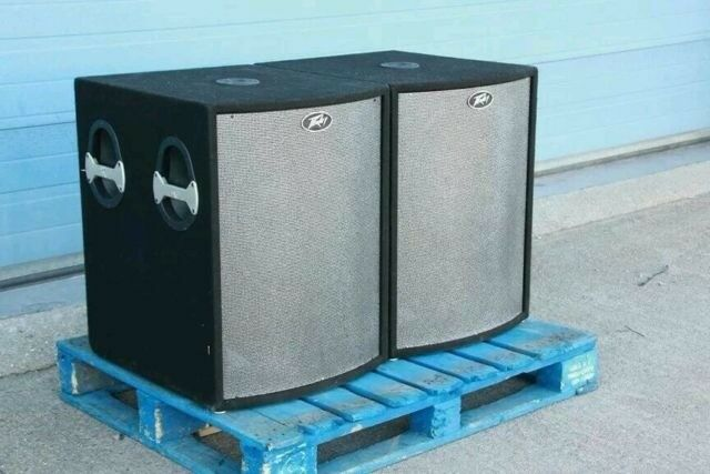 PEAVEY MESENGER UL 18 INCH BASS BINS SUBS 1000 WATTS EACH | in Wallasey,  Merseyside | Gumtree