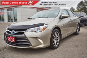2015 Toyota Camry Hybrid XLE - Why not save on fuel in style?