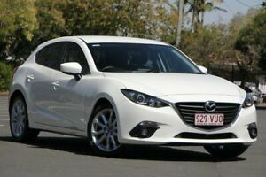 2015 Mazda 3 BM5438 SP25 SKYACTIV-Drive White 6 Speed Sports Automatic Hatchback Chermside Brisbane North East Preview