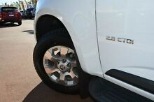 2013 Holden Colorado RG MY13 LTZ Crew Cab White 6 Speed Sports Automatic Utility Gosnells Gosnells Area Preview