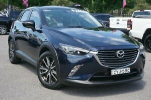 2015 Mazda CX-3 DK4WSA sTouring SKYACTIV-Drive i-ACTIV AWD Blue 6 Speed Sports Automatic Wagon Phillip Woden Valley Preview