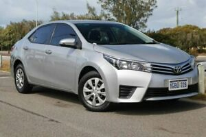 2014 Toyota Corolla ZRE172R Ascent S-CVT Silver Ash 7 Speed Constant Variable Sedan Clarkson Wanneroo Area Preview