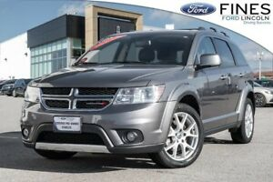 2013 Dodge Journey R/T - AWD, LEATHER, SUNROOF & NAVIGATION!