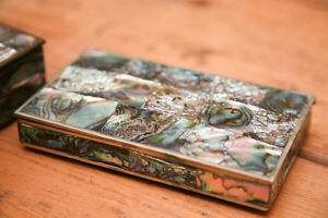 Mexican Silver Mother of Pearl boxes Peterborough Peterborough Area image 8