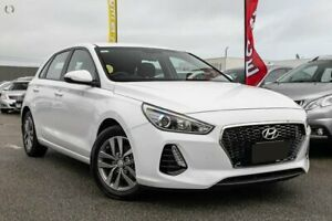 2017 Hyundai i30 PD MY18 Active White 6 Speed Sports Automatic Hatchback Dandenong Greater Dandenong Preview