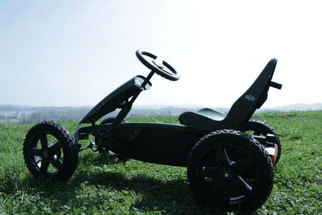 Gokart, BERG Rally Jeep Adventure,Geländereifen, Verstellbarer Sitz