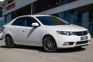 2012 Kia Cerato TD MY12 Extra White 6 Speed Sports Automatic Sedan Castle Hill The Hills District Preview