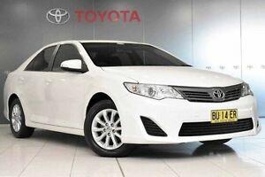 2013 Toyota Camry ASV50R Altise Diamond White 6 Speed Sports Automatic Sedan Glebe Inner Sydney Preview