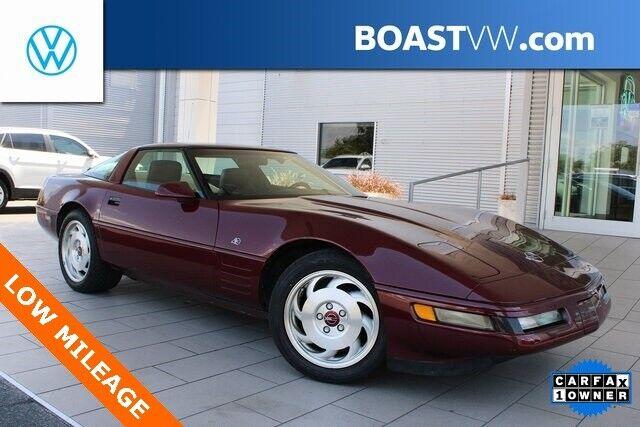 1993 Red Chevrolet Corvette   | C4 Corvette Photo 1