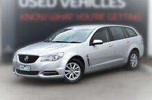 2013 Holden Commodore VF MY14 Evoke Sportwagon Silver 6 Speed Sports Automatic Wagon Berwick Casey Area Preview
