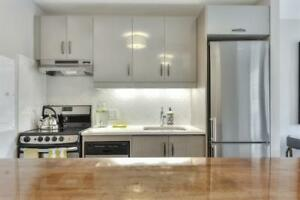 1 month FREE! Plateau! Renovated. Mins To Parc La Fontaine-4 ½