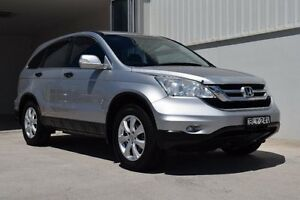 2010 Honda CR-V RE MY2010 4WD Alabaster Silver 5 Speed Automatic Wagon Rutherford Maitland Area Preview