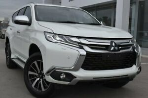 2018 Mitsubishi Pajero Sport QE MY18 Exceed White 8 Speed Sports Automatic Wagon Launceston Launceston Area Preview
