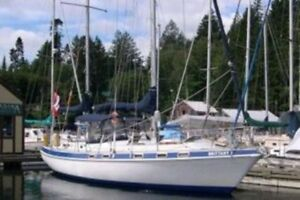 Morgan OI 416 - Tall ketch rig