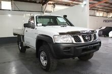 2012 Nissan Patrol MY11 Upgrade DX (4x4) White 5 Speed Manual Cab Chassis Pennington Charles Sturt Area Preview