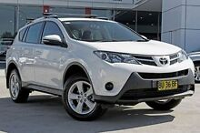 2012 Toyota RAV4  White Auto Seq Sportshift Wagon Thornleigh Hornsby Area Preview