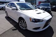2010 Mitsubishi Lancer CJ MY11 Ralliart Sportback TC-SST White 6 Speed Sports Automatic Dual Clutch Hoppers Crossing Wyndham Area Preview