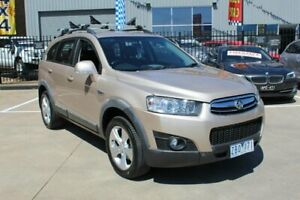2012 Holden Captiva CG Series II 7 CX (4x4) Beige 6 Speed Automatic Wagon Hoppers Crossing Wyndham Area Preview