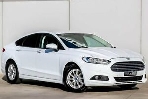 2015 Ford Mondeo MD Ambiente SelectShift White 6 Speed Sports Automatic Hatchback Pakenham Cardinia Area Preview