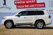 2016 Toyota Landcruiser VDJ200R Sahara White 6 Speed Sports Automatic Wagon Morley Bayswater Area Preview