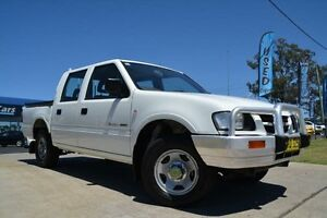 2001 Holden Rodeo TFR9 LX White 4 Speed Automatic Crewcab Mulgrave Hawkesbury Area Preview