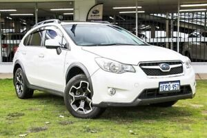 2014 Subaru XV G4X MY14 2.0i-L Lineartronic AWD White 6 Speed Constant Variable Wagon Victoria Park Victoria Park Area Preview