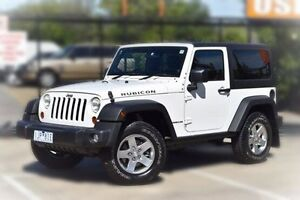 2011 Jeep Wrangler JK MY2010 Rubicon White 4 Speed Automatic Softtop Berwick Casey Area Preview