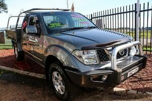 2010 Nissan Navara D40 ST-X King Cab Slate Grey King Cab 6 Speed Manual Utility Minchinbury Blacktown Area Preview