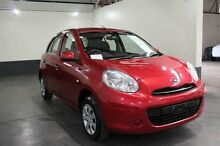 2013 Nissan Micra K13 MY13 ST Red 5 Speed Manual Hatchback Pennington Charles Sturt Area Preview