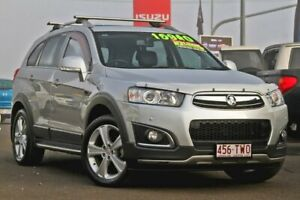 2013 Holden Captiva CG MY14 7 AWD LTZ Silver 6 Speed Sports Automatic Wagon Gympie Gympie Area Preview