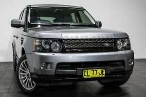 2012 Land Rover Range Rover Sport L320 12MY SDV6 CommandShift Grey 6 Speed Sports Automatic Wagon Rozelle Leichhardt Area Preview