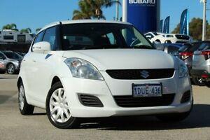 2012 Suzuki Swift FZ GL White 4 Speed Automatic Hatchback Greenfields Mandurah Area Preview