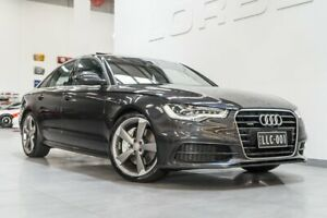 2014 Audi A6 4GL MY14 3.0 TFSI Quattro Oolong Grey 7 Speed Automatic Sedan Port Melbourne Port Phillip Preview