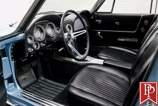 1963 Blue Chevrolet Corvette Convertible  | C2 Corvette Photo 9