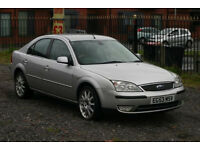 Ford Mondeo GHIA X 2.0 (with dvd)