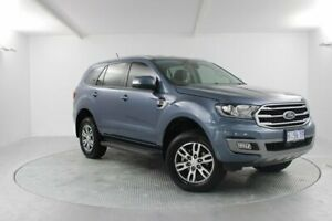 2019 Ford Everest UA II 2019.00MY Trend 4WD Blue 10 Speed Sports Automatic Wagon Launceston Launceston Area Preview